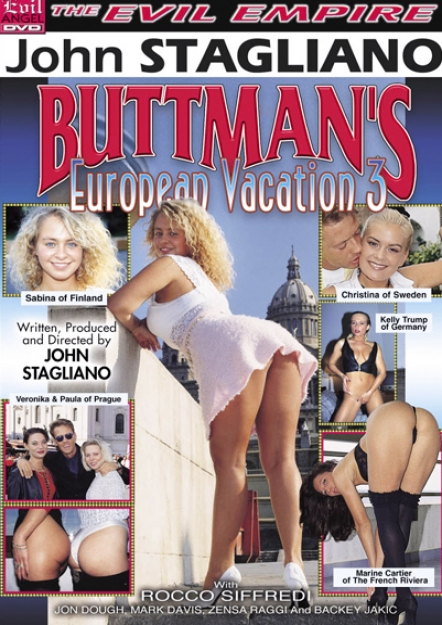 Buttman's European Vacation 3 DVD