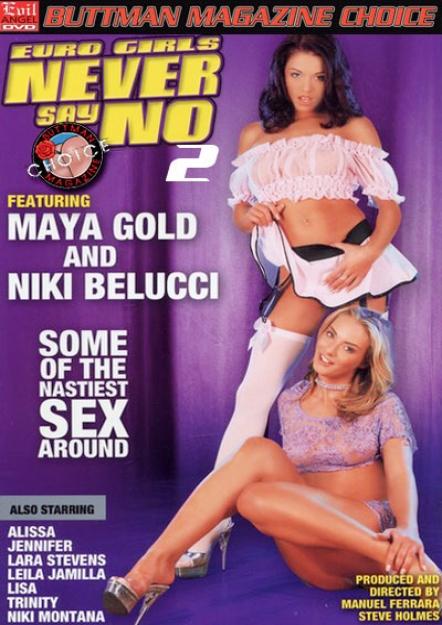 Euro Girls Never Say No 2 DVD