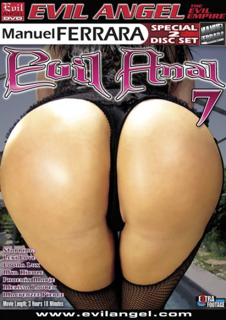 Evil Anal 7 DVD
