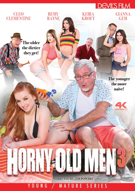 Horny Old Men #03 DVD