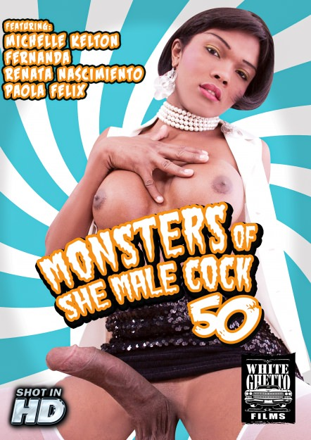 Monsters Of TGirl Cock #50 DVD