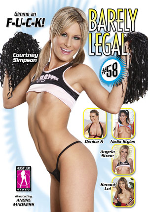 Barely Legal #58 DVD