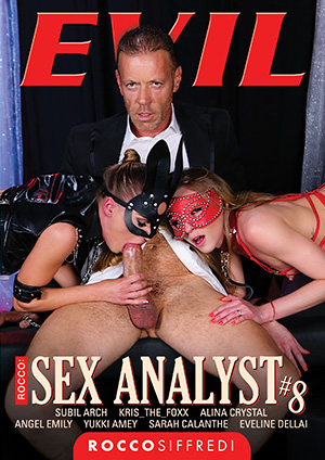 Rocco: Sex Analyst #8 DVD
