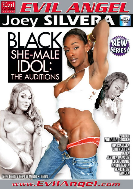 Black Shemale Idol - The Auditions DVD