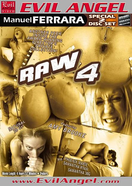 Raw #04 DVD