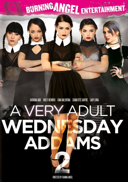 A Very Adult Wednesday Addams #02 DVD