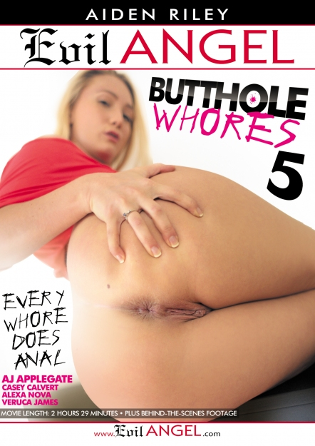 Butthole Whores #05 DVD