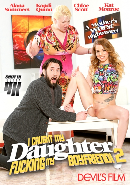 I Caught My Daughter Fucking My Boyfriend #02 DVD