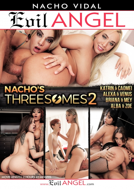 Nacho's Threesomes #02 DVD