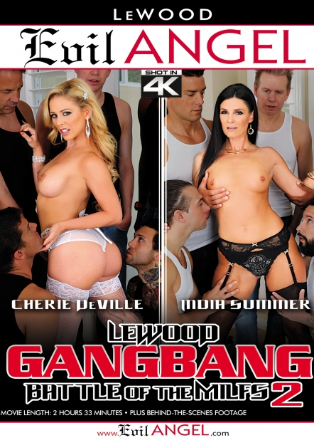 LeWood Gangbang: Battle Of The MILFs #02 DVD