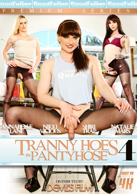 Tranny Hoes in Pantyhose #04 DVD
