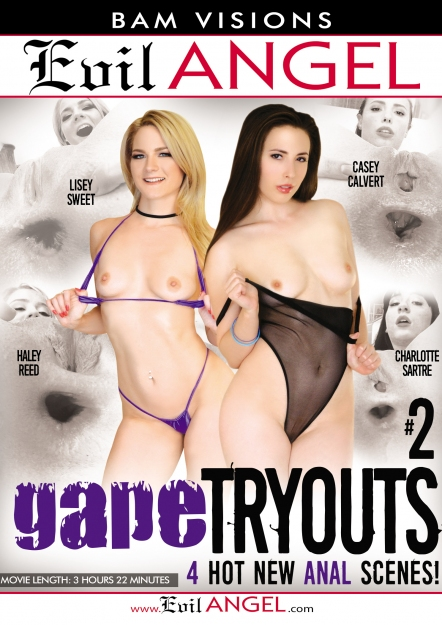 Gape Tryouts #02 DVD