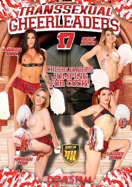 Transsexual Cheerleaders #17 DVD