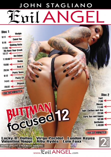 Buttman Focused #12 DVD