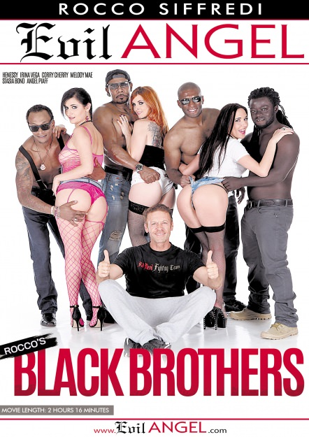 Rocco's Black Brothers DVD