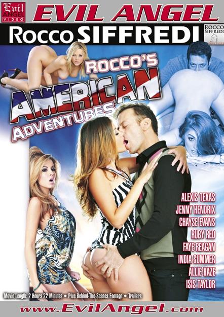 Rocco's American Adventures DVD