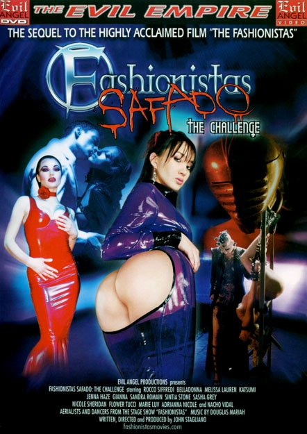 Fashionistas Safado - The Challenge DVD