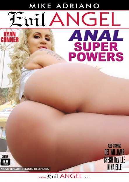 Anal Super Powers DVD