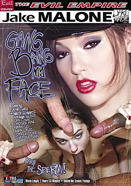Gang Bang My Face #01 DVD