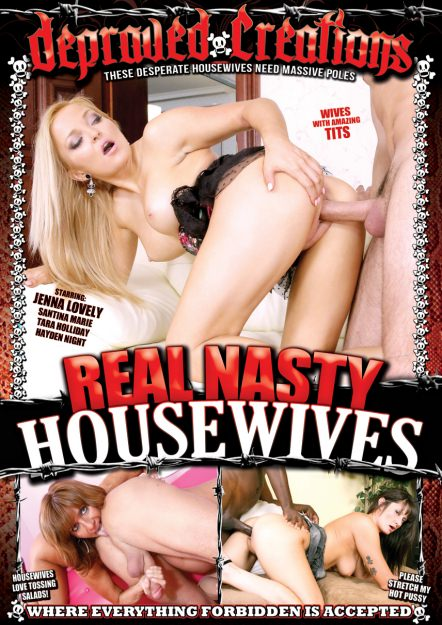 Real Nasty Housewives DVD