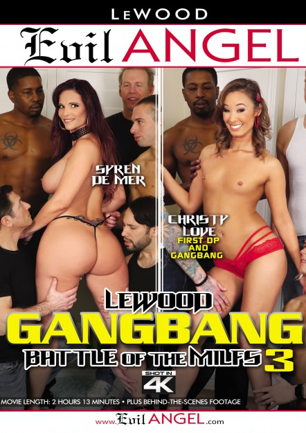 LeWood Gangbang: Battle Of The MILFs #03 DVD