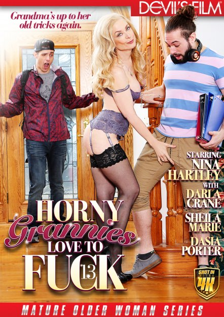 Horny Grannies Love to Fuck #13 DVD