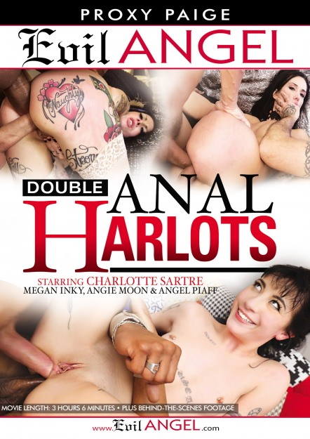 Double Anal Harlots DVD