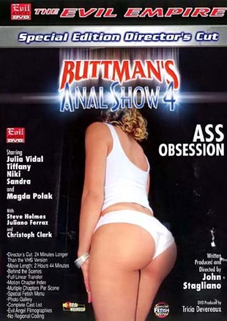 Buttman's Anal Show #04 DVD