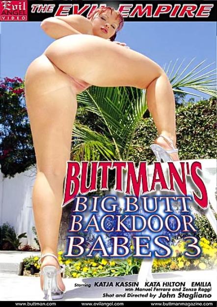 Buttman's Big Butt Backdoor Babes #03 DVD