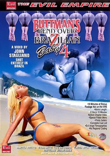 Buttman's Bend Over Brazilian Babes #04 DVD