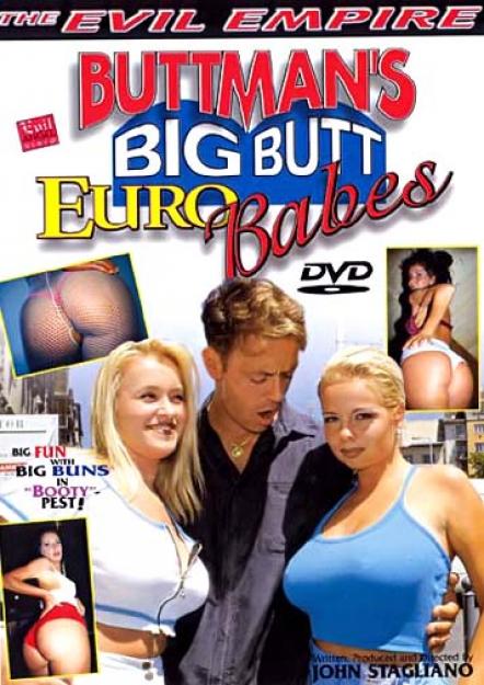 Buttman's Big Butt Euro Babes DVD