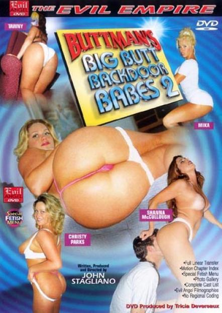 Buttman's Big Butt Backdoor Babes #02 DVD