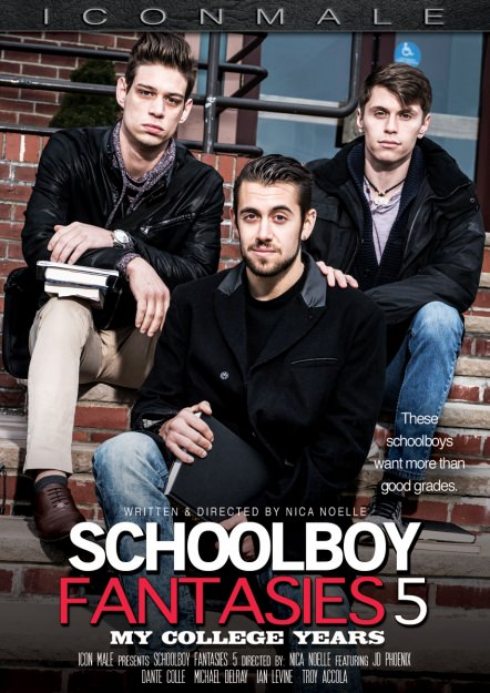 Schoolboy Fantasies #5 - My College Years DVD