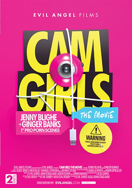 Cam Girls: The Movie DVD
