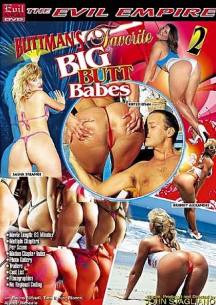 Buttman's Favorite Big Butt Babes #02 DVD