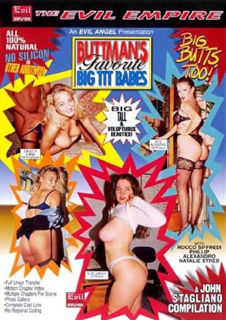 Buttman's Favorite Big Tit Babes DVD