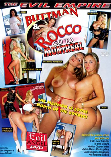 Buttman And Rocco Go To Montreal DVD