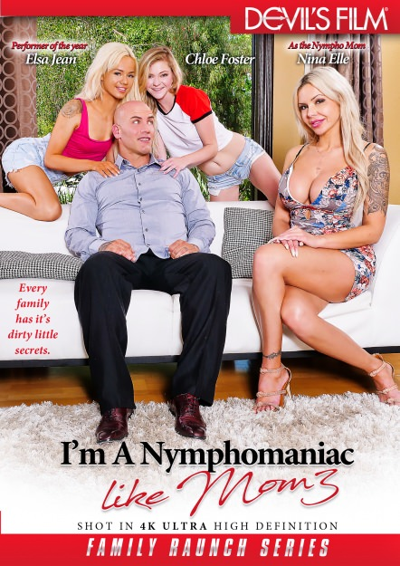 I'm A Nymphomaniac Like Mom #03 DVD