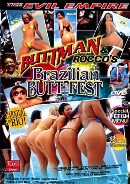 Buttman And Rocco's Brazilian Butt Fest DVD