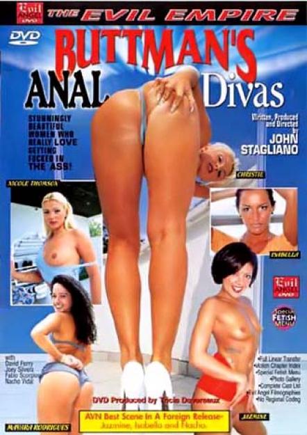 Buttman's Anal Divas #01 DVD