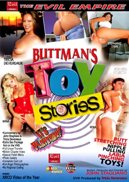 Buttman's Toy Stories DVD