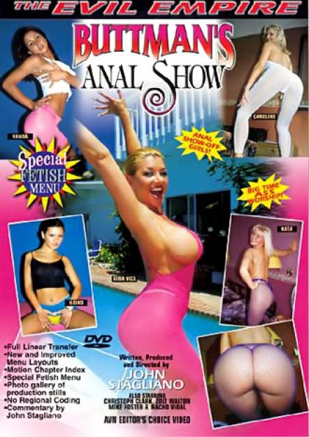 Buttman's Anal Show #01 DVD
