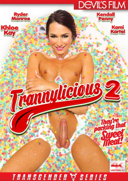 Trannylicious #02 DVD