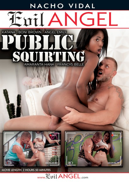 Public Squirting DVD