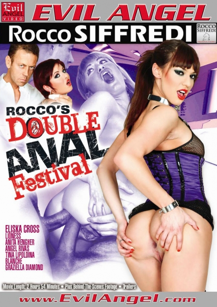 Rocco's Double Anal Festival DVD