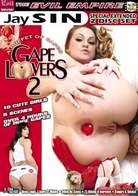 Gape Lovers 2 DVD