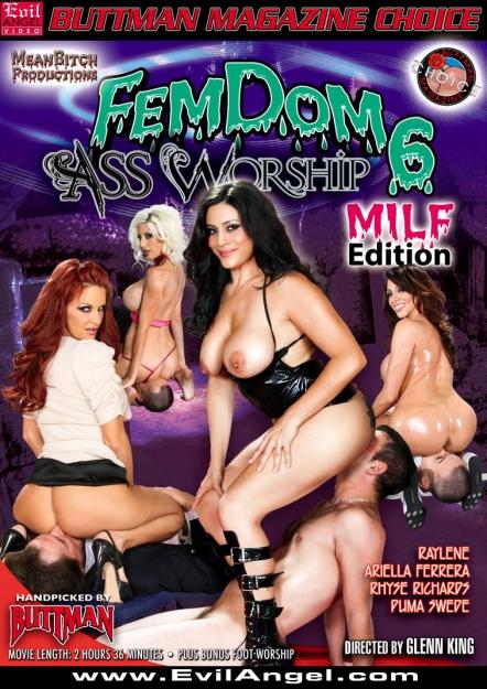 Femdom Ass Worship #06 DVD