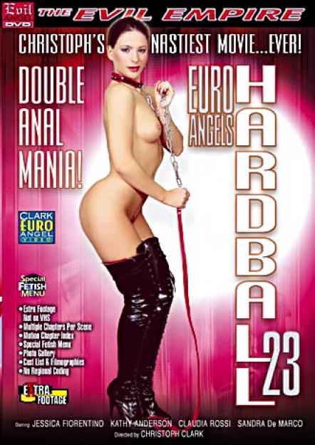 Euro Angels Hardball #23 - Double Anal Mania DVD