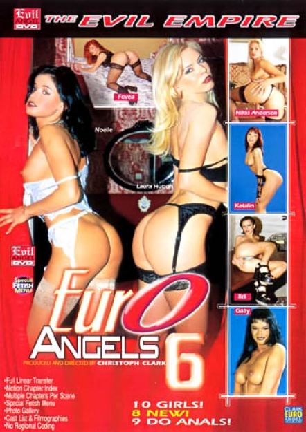 Euro Angels #06 DVD