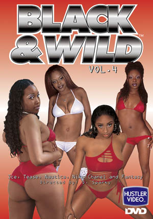 Black and Wild #4 DVD